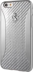 Ferrari GT EXPERIENCE- iPhone Silver Hard Case Carbon Fiber
