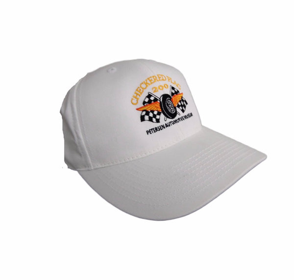 Checkered Flag 200 White Hat - CF200 Member Exclusive