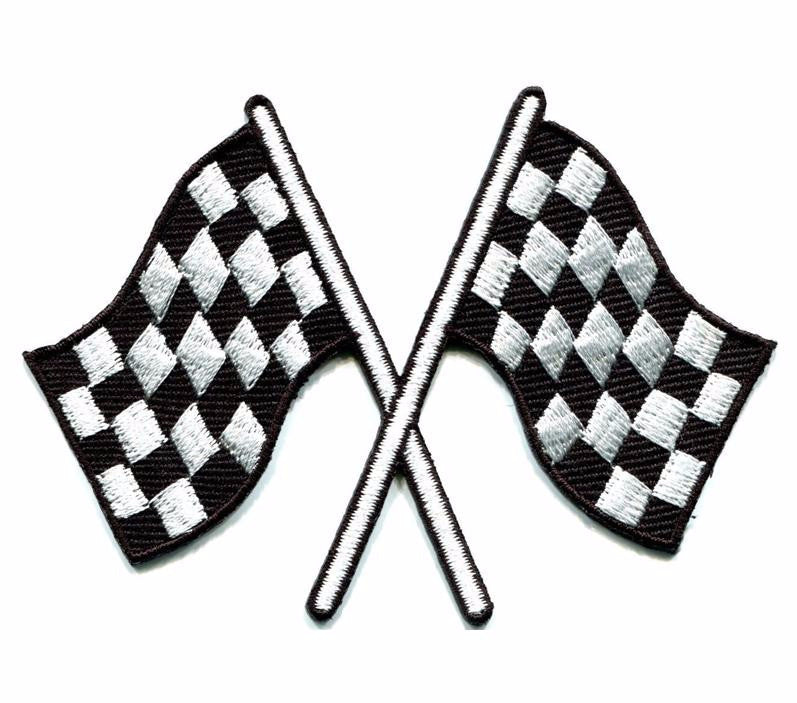checkered flag patch petersen automotive museum store