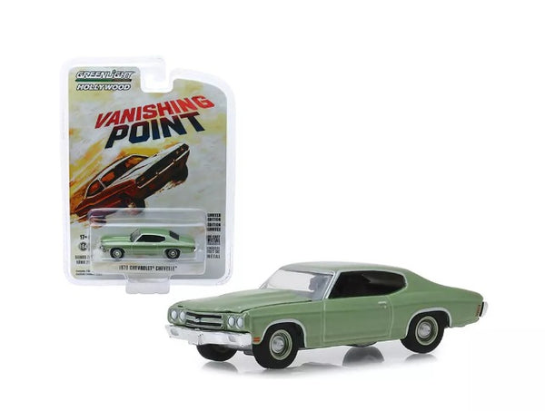 Greenlight- Hollywood Series -'70 Chevy Chevelle -Vanishing Point 1:64 Scale