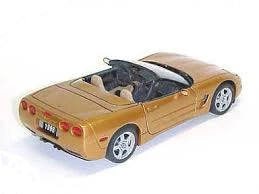 1998 Corvette Aztec Gold Franklin Mint
