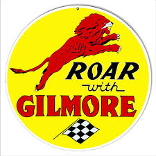Gilmore Gas 12 inch Round Sign