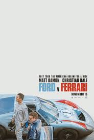 Ford vs Ferrari Movie Poster