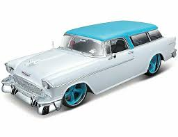 1955 Chevrolet Bel Air Nomad 1:18 Scale