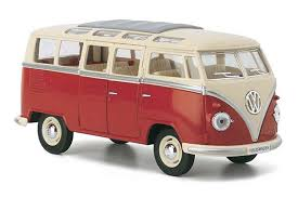 Kinsmart- 1962 Volkwagen Classical Buns- Loose 1:24 Scale