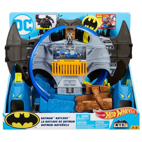 HOT WHEELS DC BATMAN BATCAVE PLAY SET
