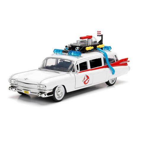 Hollywood Rides: Ghostbusters Ecto-1 1:24 scale