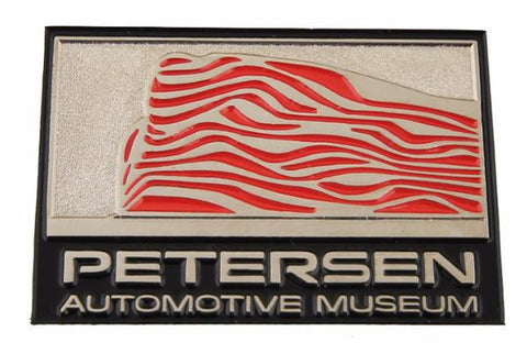 Petersen Museum Pin - Exterior Ribbons