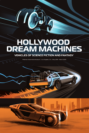 Hollywood Dream Machine Exhibit Poster