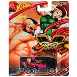 Hot Wheels: Capcom Street Fighter - Hiway Hauler - 1:64 Diecast Scale