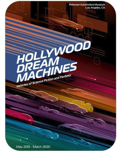 Hollywood Dream Machines Magnet