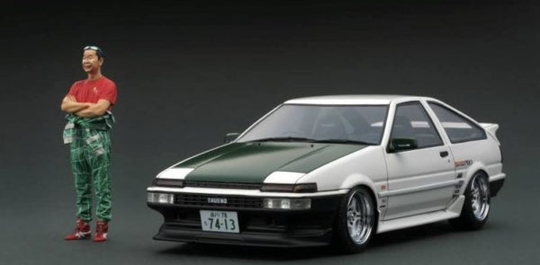 IGNITION MODEL TOYOTA SPRINTER TRUENO (AE86) 3DOOR W/ FIGURINE