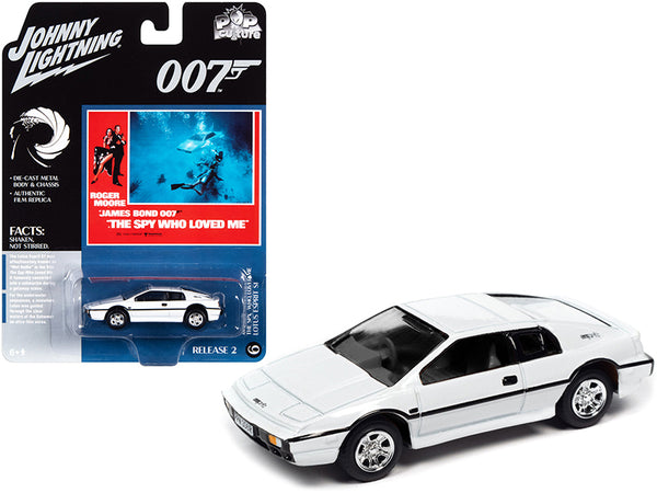 James Bond 007 The Spy Who Love Me Lotus Esprit SI White