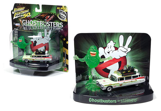 Ghostbusters With Slimer Tin Collector Diorama