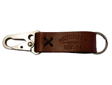 Pete By Petersen - Est. 94 Leather Keychain