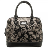 Star Wars Trooper Dome Satchel w/ Metal Charm
