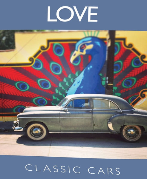 Love Classic Cars Ten Postcards