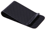 Carbon Fiber Money Clip - Black