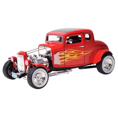 1932 Ford Flamed Hot Rod 1:18 Scale