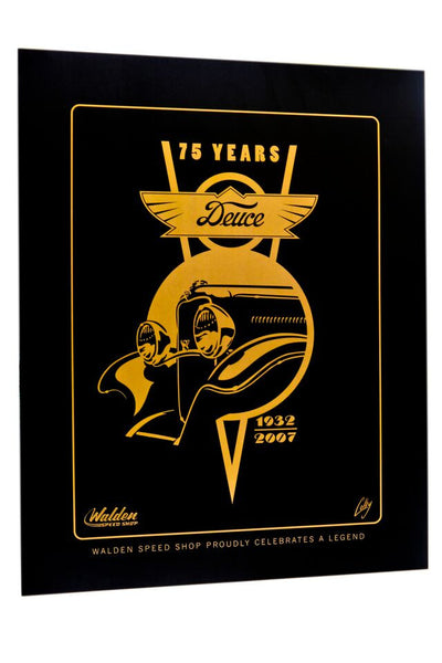 Deuce 75th Anniversary Poster