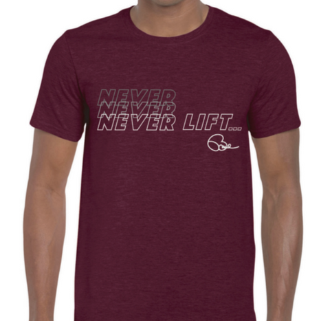Never Lift Tee - NNNever Lift