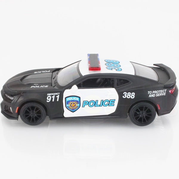 Kinsmart- Camaro ZL1 Police and Firefighter - Loose 1:38 Diecast
