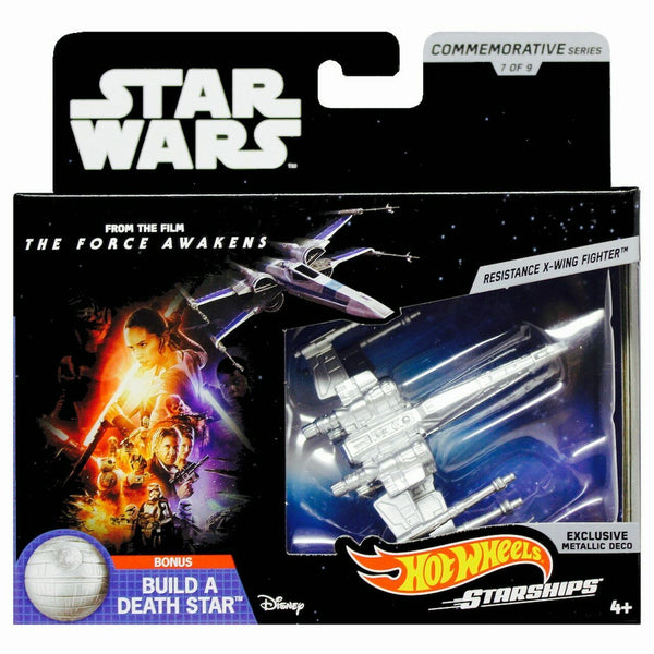 Hot Wheels - Star Wars Commemorative Series - Resistance X-Wing Fighter from The Force Awakens