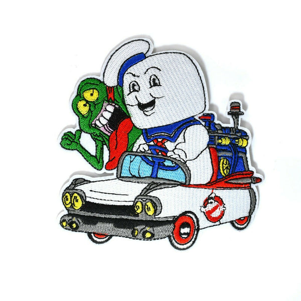 Ghostbusters Stay Puft and Slimer Patch