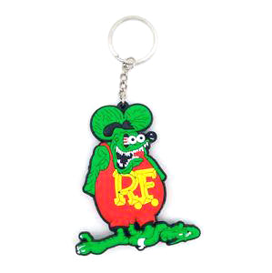 Rat Fink Soft Keychain