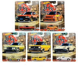 Hot Wheels- Car Culture Japanese Historic Assortment 1:64 Scale