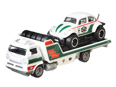 "Hot Wheels- VW ""Baja Bug"" & Transporter"