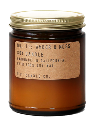 No. 11: Amber & Moss by P.F. Candle Co.