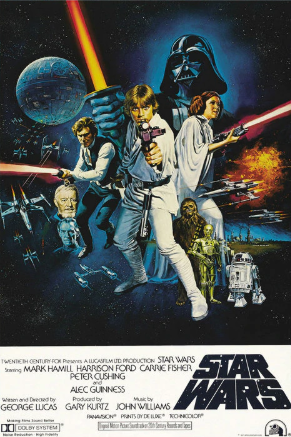 Star Wars Fabric Poster