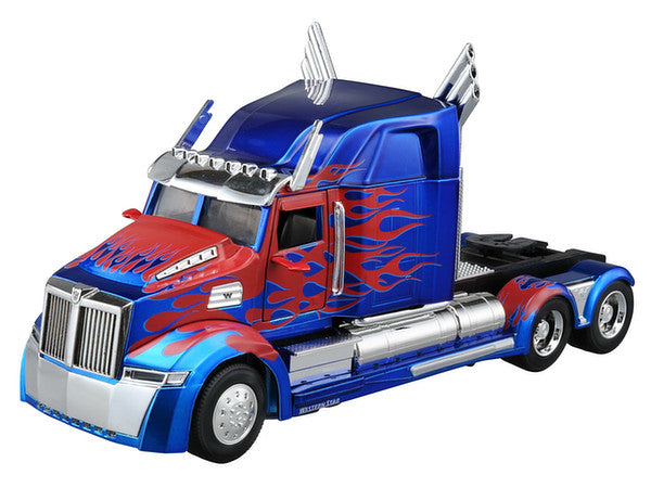 JADA TRANSFORMERS OPTIMUS PRIME WESTERN STAR 5700 1:24 SCALE