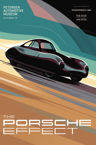 Petersen Poster - The Porsche Effect: Type 64
