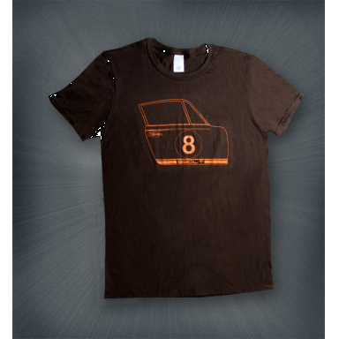 911 Door Brown T-Shirt