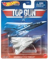 Hot Wheels Retro- Top Gun Grumman F-14 Tomcat- 1:64 Scale