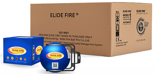 CASE Mini Elide Offroad Fire Extinguishing Ball 4″