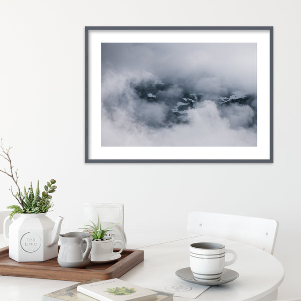 Clouds and Mountains of Norway | Wall Art Print by Jan Erik Waider