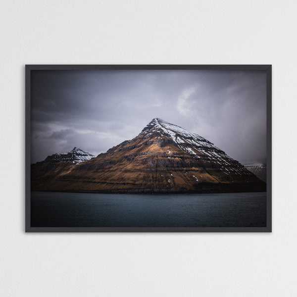 Pyramidal Mountain, Faroe Islands | Photography Print by Northlandscapes