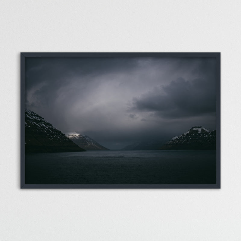 Dark Clouds over the Faroe Islands | Photography Print by Northlandscapes