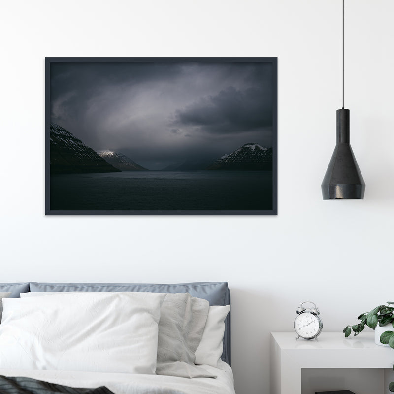 Dark Clouds over the Faroe Islands | Fine Art Photography Print by Northlandscapes