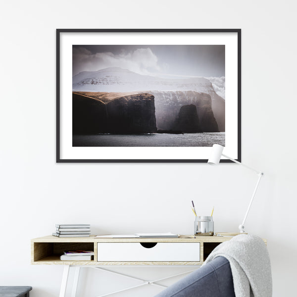 Faroe Island from the Ferry Norröna | Wall Art Print by Jan Erik Waider