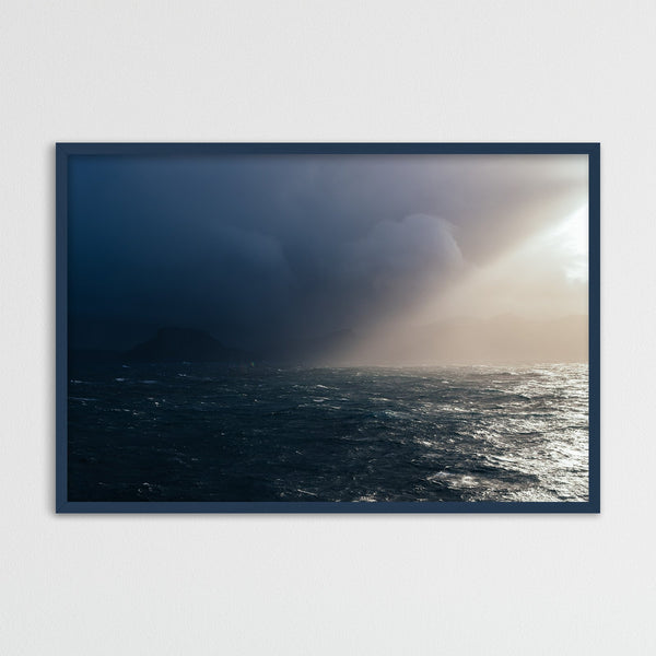 Sun Breaking through Storm Clouds | Photography Print by Northlandscapes