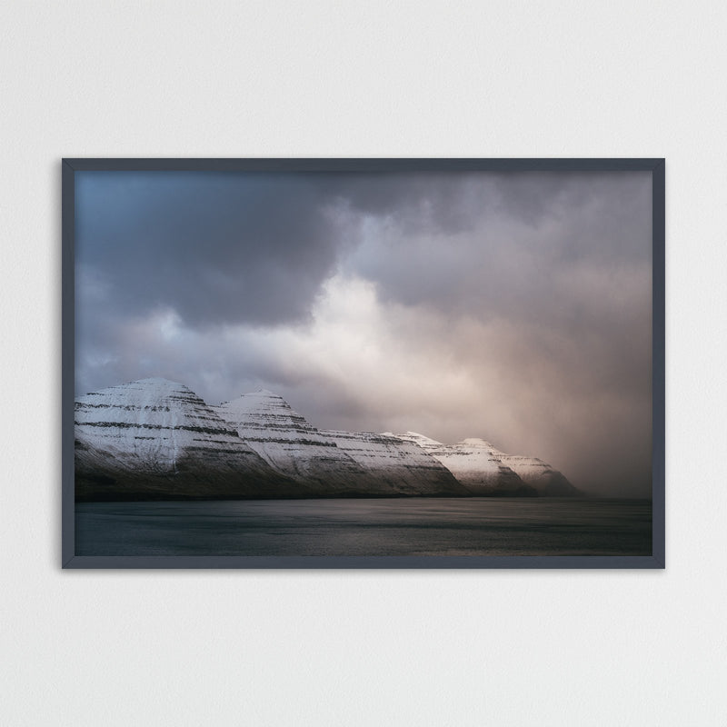 Winter Light over Kalsoy on the Faroe Islands | Photography Print by Northlandscapes