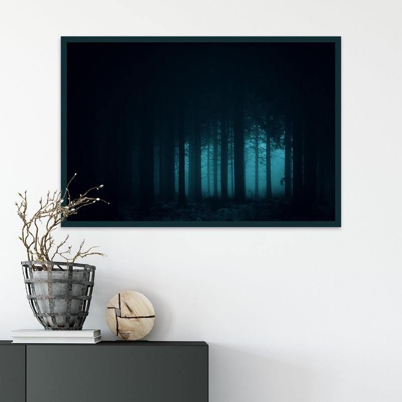 Dark and Mysterious Forest | Fine Art Photography Print by Northlandscapes