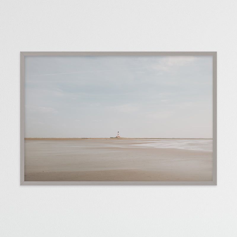 Westerheversand Lighthouse in Germany | Photography Print by Northlandscapes