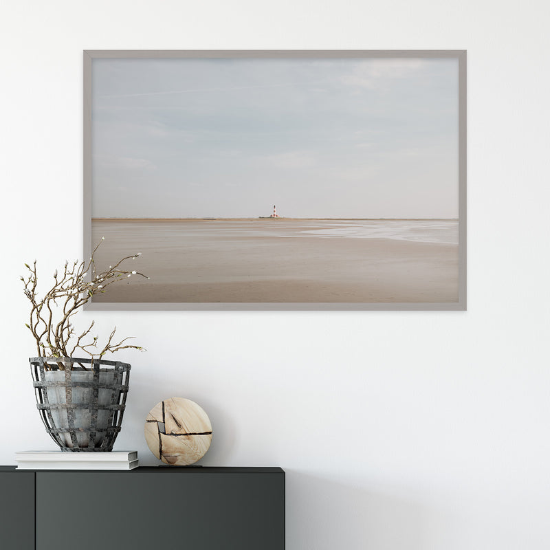 Westerheversand Lighthouse in Germany | Fine Art Photography Print by Northlandscapes