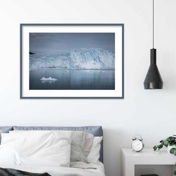 Glacier in Greenland | Wall Art Print by Jan Erik Waider