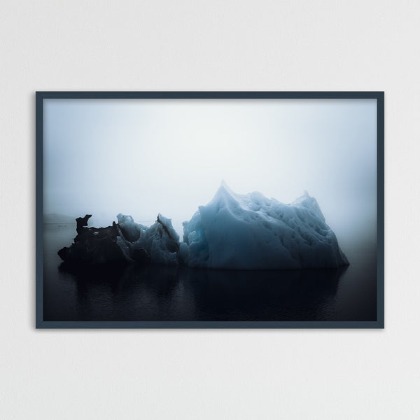 Abstract Icebergs in Greenland | Photography Print by Northlandscapes